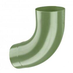 Koleno pozinkované trávově zelené  60/72st. lisované
