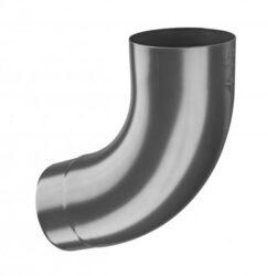 Koleno hliníkové antracit  80/72st. lisované