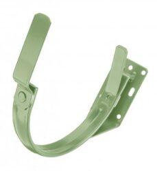 Hák pozinkovaný trávově zelený 250 mm do čela krokve
