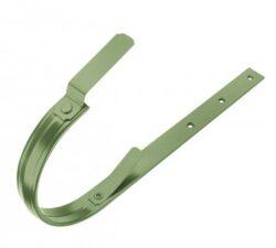 Hák pozinkovaný trávově zelený 330/550 mm, pás. 30/5 mm