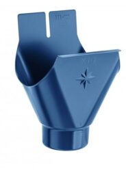 Kotlík pozinkovaný modrý 280/ 80 mm lisovaný